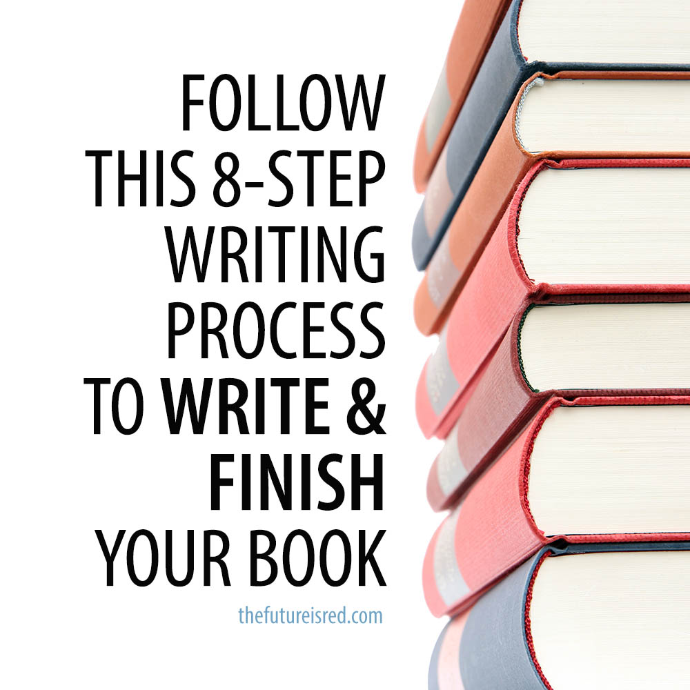 How to Write a Book In These 8 Steps by guest @TheLeighShulman via @BadRedheadMedia