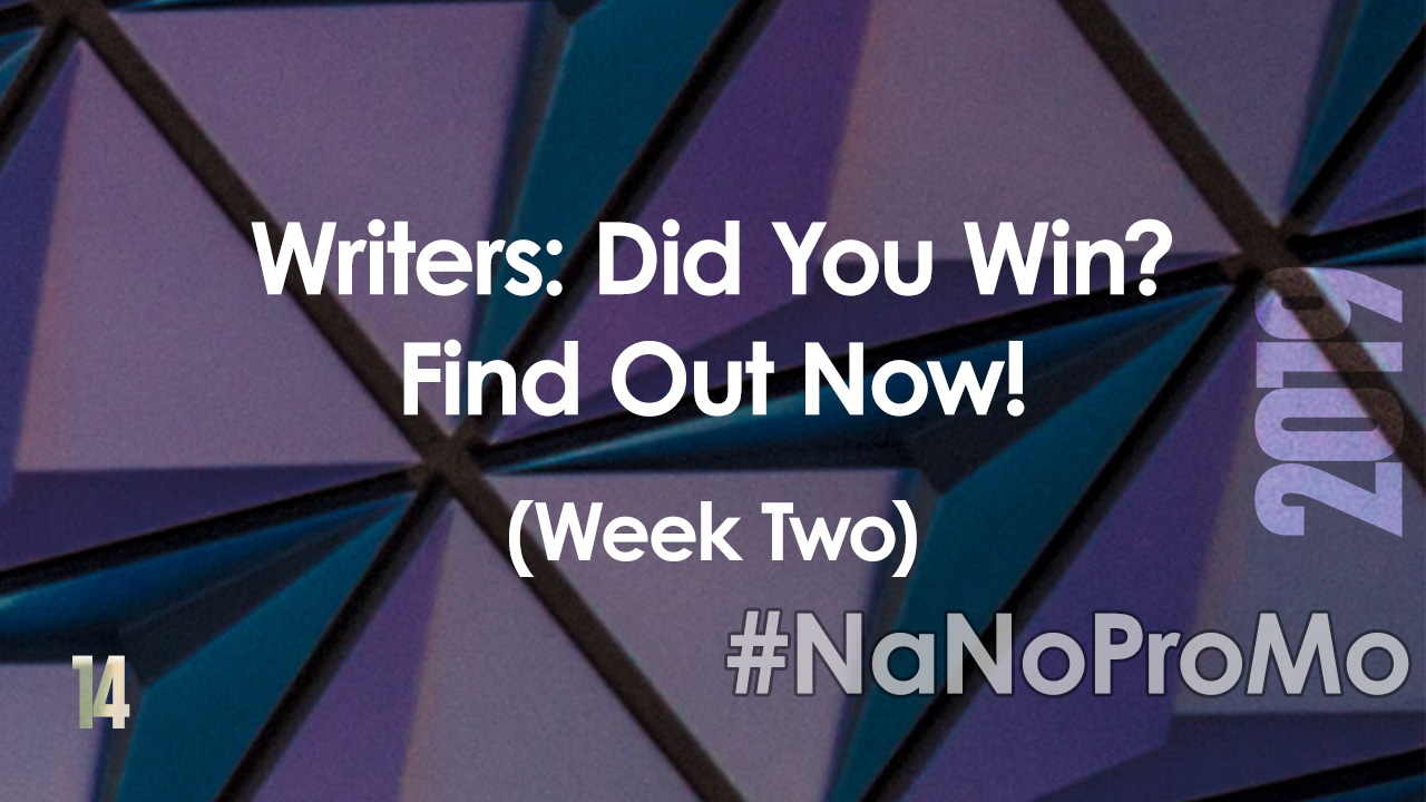 Writers: Did You Win? Find Out Now! (Week Two) via @BadRedheadMedia and @NaNoProMo #win #winners #giveaways
