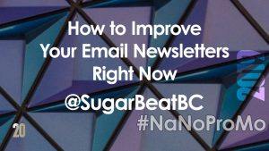 #newsletter #email #author
