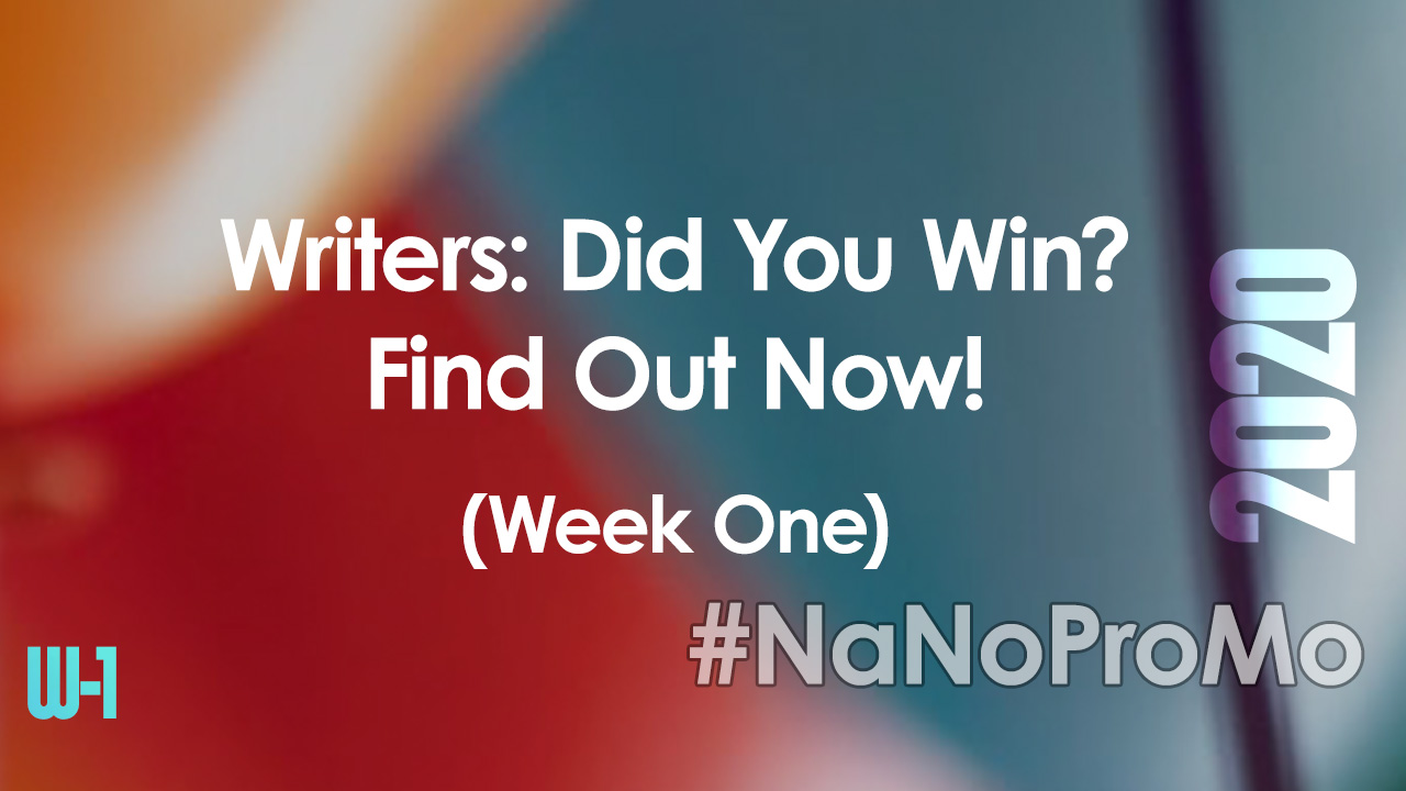 Here are the Winners from #NaNoProMo Week One #winner #winners #writers